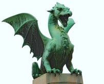 Dragon Statue - Isolated